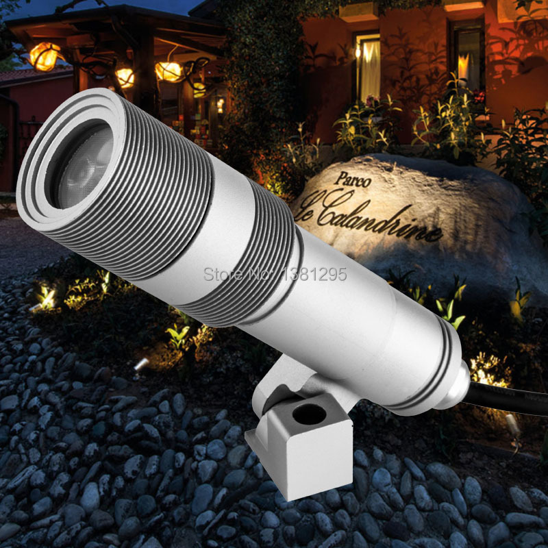 Outdoor Waterproof Ac12v 24v Low Voltage Led Landscape Lighting Garden Spot Light Lawn Lamp Illuminated Tree Flood Spotlight 5w