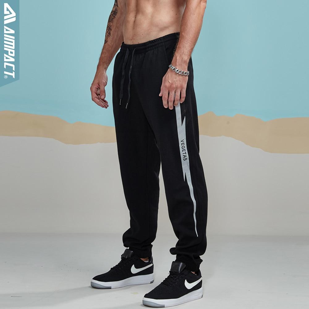 Aimpact 2018 New Casual Jogger Pants Men Active Elastic Urban Biker Pant Man Cotton Drawstring Sweatpants Male Track Pant AM5003 (24)