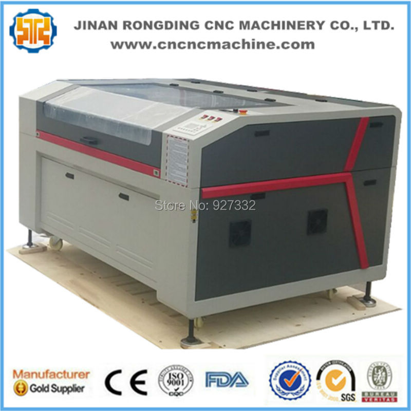 Factory CO2 Plywood Laser Cutting Machine 1300*900mm For Sale