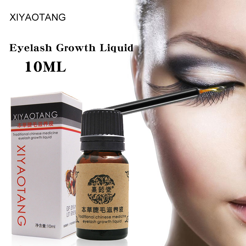 Powerful Eyelash Growth Treatments Liquid Eye Lash Serum Makeup Enhancer Longer Thicker Grow In 15 Days Eye Care Essential Oils