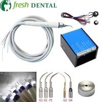 1 комплект Fit EMS woodpecker зубной чище гигиена полости рта в чистка зубов и отбеливание зубов для зубные стул с светодио дный свет L9