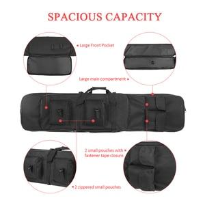 Image 4 - 95Cm/120Cm Tactical Gun Case Padded Gun Bag Outdoor Schieten Jacht Zakken Gear Militaire Accessoires Carrying Storage holster