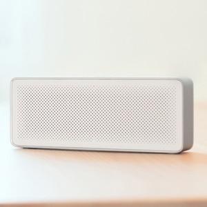 Image 2 - Xiaomi Mi głośnik Bluetooth kwadratowe pudełko 2 Stereo przenośny Bluetooth 4.2 HD wysokiej rozdzielczości jakość dźwięku odtwarzaj muzykę