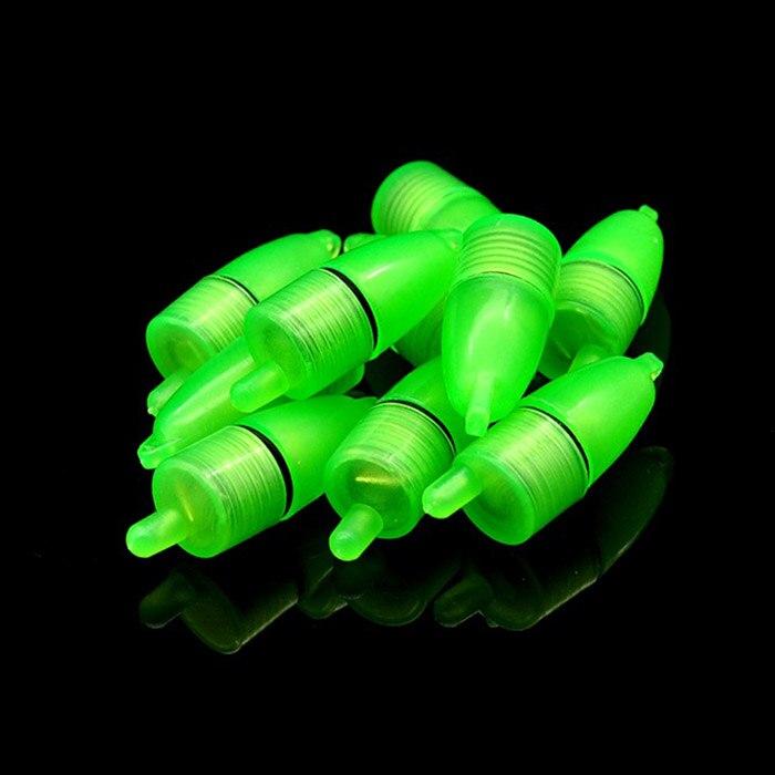 HOT 10 Pcs LED Light Night Float Fishing Rod Bite Shing Accessories TI99