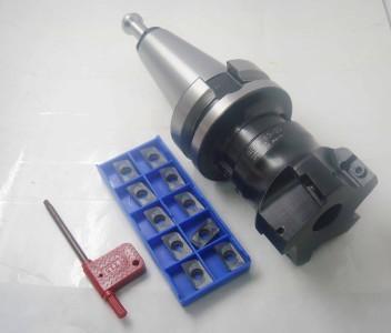 Купить с кэшбэком BT50 FMB22 60L+BAP400R 63-22-4T Face Milling Cutter &10pcs  APMT1604 inserts