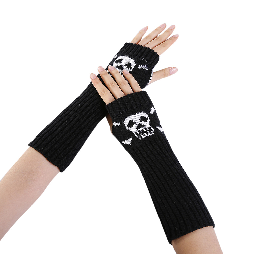 Handschuh-fingerlose Stricken Twist Winter Warme Weiche Mode Wärmer Dame Handschuhe Praktische Casual Handschuhe Lange Arm Frauen Herbst Damen-accessoires Bekleidung Zubehör