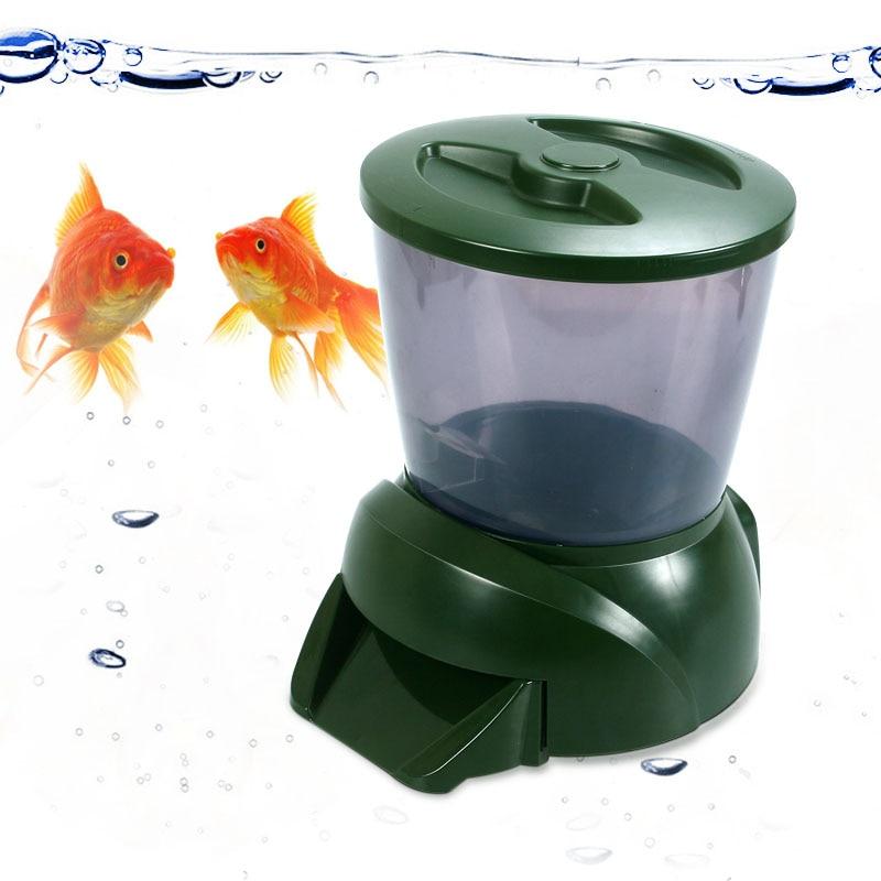 Compra alimentador autom tico de peces de estanque online for Estanques online