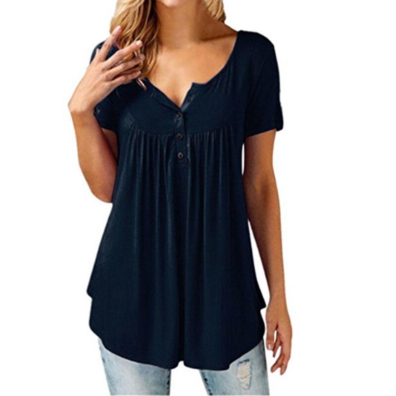 Модная Повседневная элегантная женская блузка, плюс размер, Harajuku, топы, летний топ, блузки, Camisas Mujer Blusa Feminina Chemise Femme, Короткие