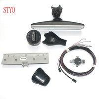 Styo автомобиля для переключения света фар + дождь свет датчик стеклоочистителя + зеркало заднего вида для VW Golf 7 MK7