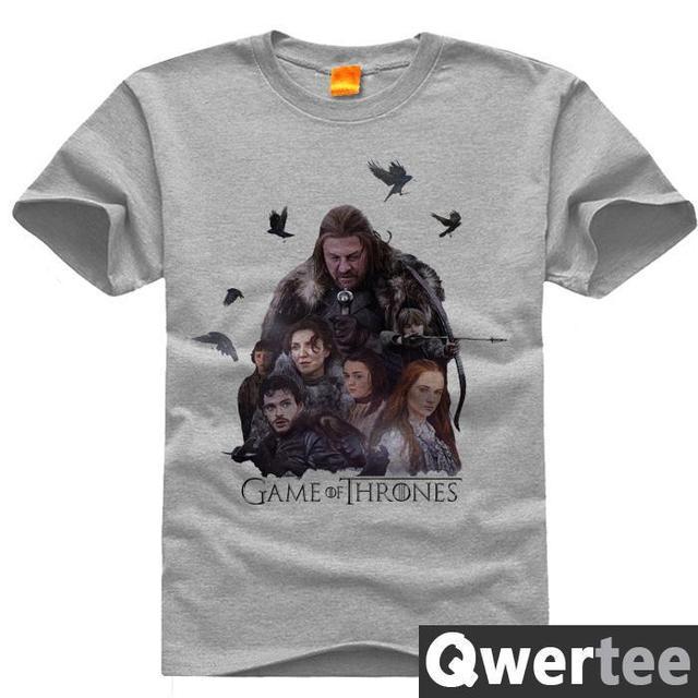 Game Of Thrones House Stark Ned Eddard Robb Arya Print Fashion Free