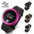 TTLIFE New Smart  Tracker Bluetooth 4.0 Wristband Smart Pedometer Bracelet For iPhone Samsung Smartband S6 PK ID107 Mi band
