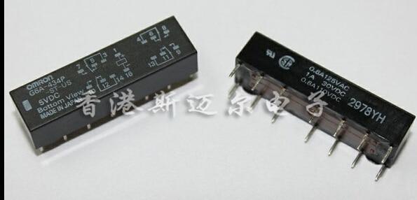 HOT NEW G6A-434P-ST-US-5VDC G6A-434P-ST-US 5VDC G6A-434P-ST G6A-434P G6A 434P DC5V 5V  DIP14 hot new relay hf6 73 5v hf6 relays 5v 5vdc dc5v 5v sop 2pcs lot