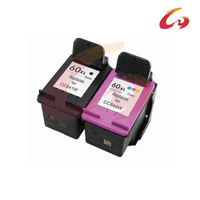 2 Pcs For HP60 Ink Cartridge For HP 60 XL Deskjet C4635 C4640 C4650 C4680 C4740