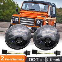 COLIGHT Led Car 7 Inch Round Headlamp 12 Volt 6000K Auto Car Accessories For Off Road