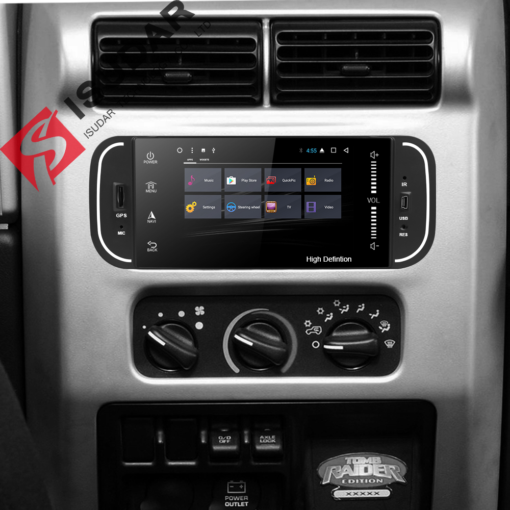 Isudar Car Multimedia player 1din android 7.1.1 5 Inch For Jeep/Chrysler/Dodge/Liberty/Wrangler/Sebring/Grand Cherokee Radio GPS