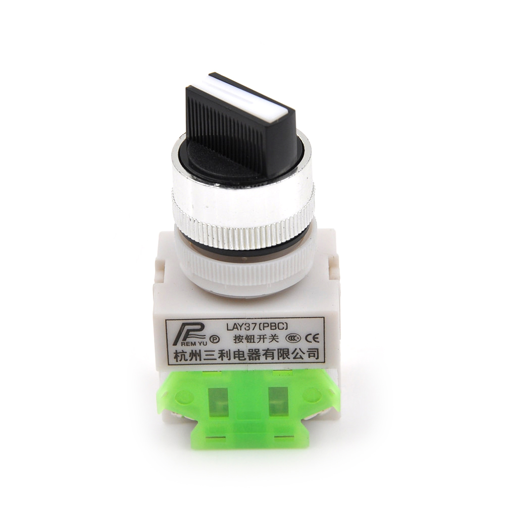 New Rotary Three Position Switch Power Ignition Selector Switch 3