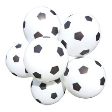 12inch Thicken Soccer Balloon White Color Kids Toys Football Baby Shower Decoration Party Supplies