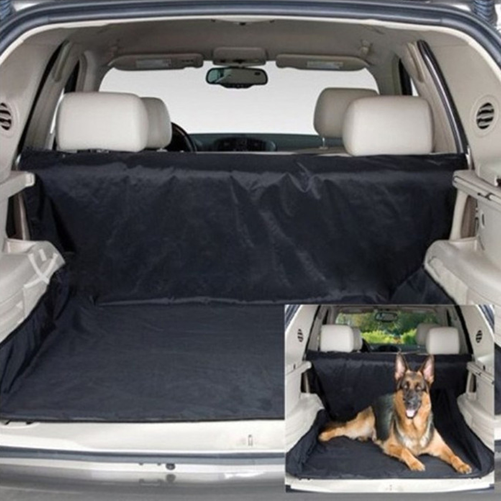 120cm 150cm Washable Waterproof Pet Dog Car Seat Clean Protection Cover Protector Rear Bench Blanket