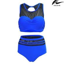 New plus size bikinis set large size swimsuit swimwear big size for fat women bikini swim suit free shipping