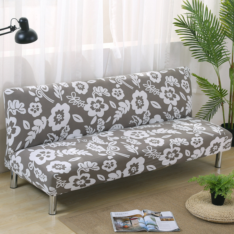 No Armrest All Inclusive Sofa Cover Elastic Couch Cover