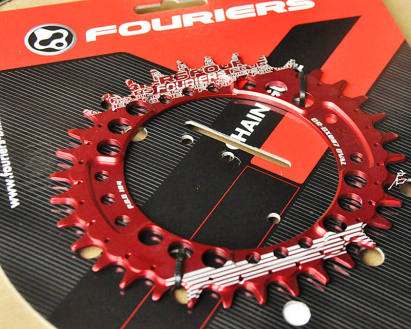 Fouriers CNC Bike Oval Single Chain Ring 34T 36T Bicycle Chainrings Sprocket BCD 104 Oval Shape Compatible For S h i m a n o 1pc fouriers cnc bike bicycle single chain ring 34t 36t chainrings p c d 104 for s h i m a n o oval shape narrow wide tooth