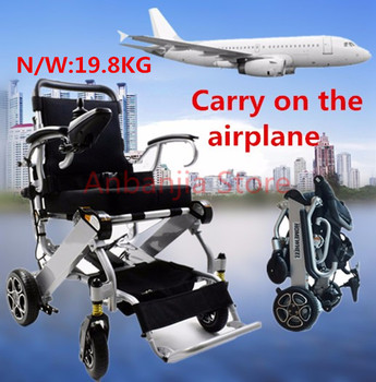 New design foldable lightweight  power electric wheelchair for distabled,elderly people CE approval