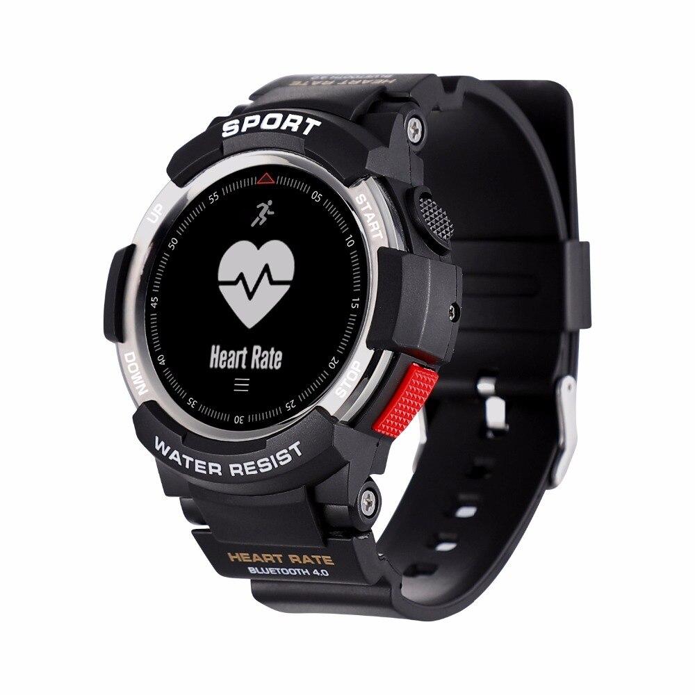 OGEDA Men Watch Bluetooth F6 Smartwatch IP68 Waterproof Heart Rate Monitor Fitness Tracker Smart watch with Multi Sport Mode T50 no 1 f2 ip68 bluetooth smartwatch green