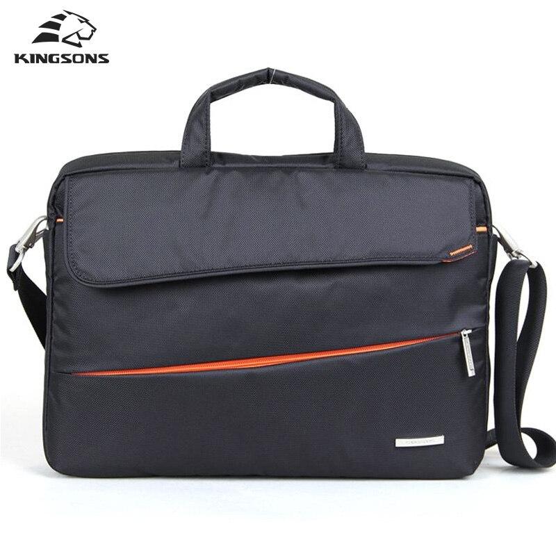 Kinsons бренд противоударный Водонепроницаемый Для мужчин Для женщин сумки и Креста тела сумка моды Портфели сумка 14.1/15.6 дюймов плеча сумка