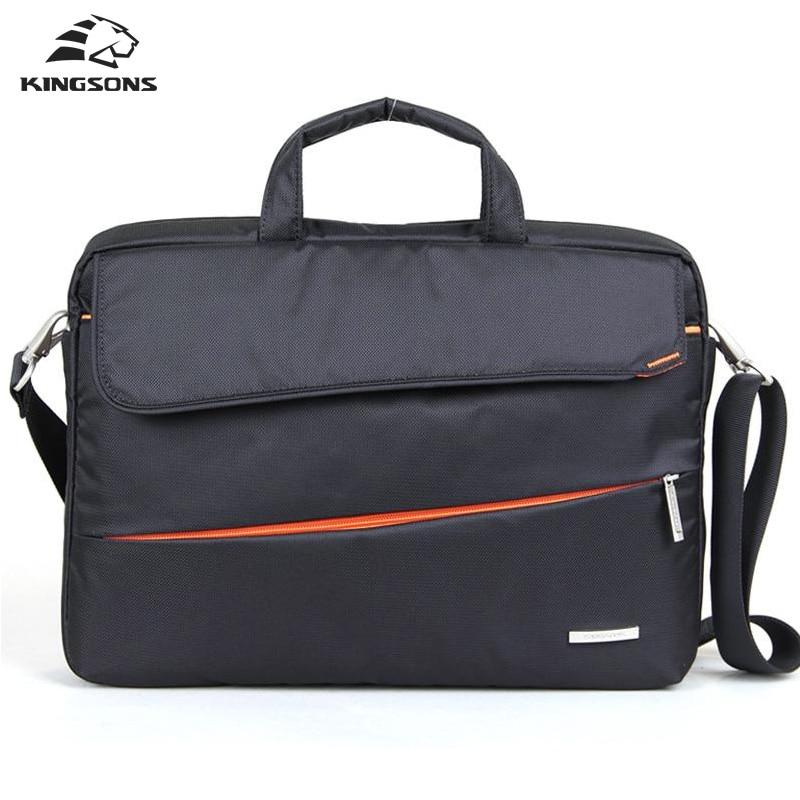 Kinsons Brand Shockproof Waterproof Men Women Handbag&Cross body Bag Fashion Briefcase Messenger Bag 14.1/15.6 inch Shoulder Bag все цены
