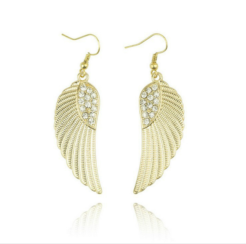 SPINNER Fashion Earrings Dangle Long Earrings With Top Quality Big Wing For Women Hot Sale Jewelry Accessories