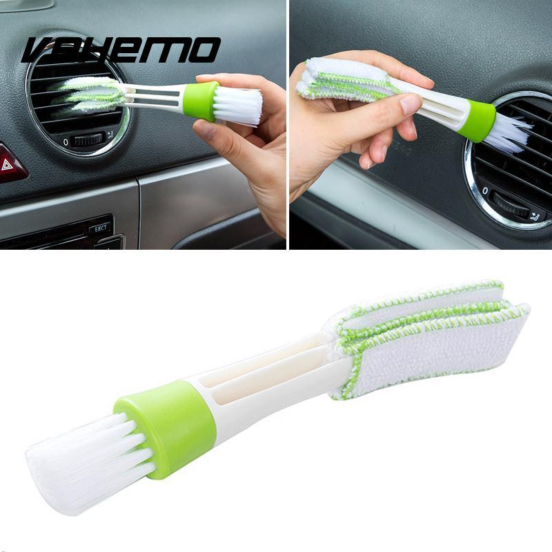 Car Vent Cleaner Инструмент PC компьютер клавиатура воздуха на выходе пыли, щетка для очистки Car Vent Клавиатура щетка для очистки автомобиль чистым а...