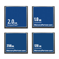 10pcs/lot CF Card Memory Card Compact Flash 32MB 64MB 128MB 256MB 512MB 1GB 2GB for Computers Laptops Free Shipping Used