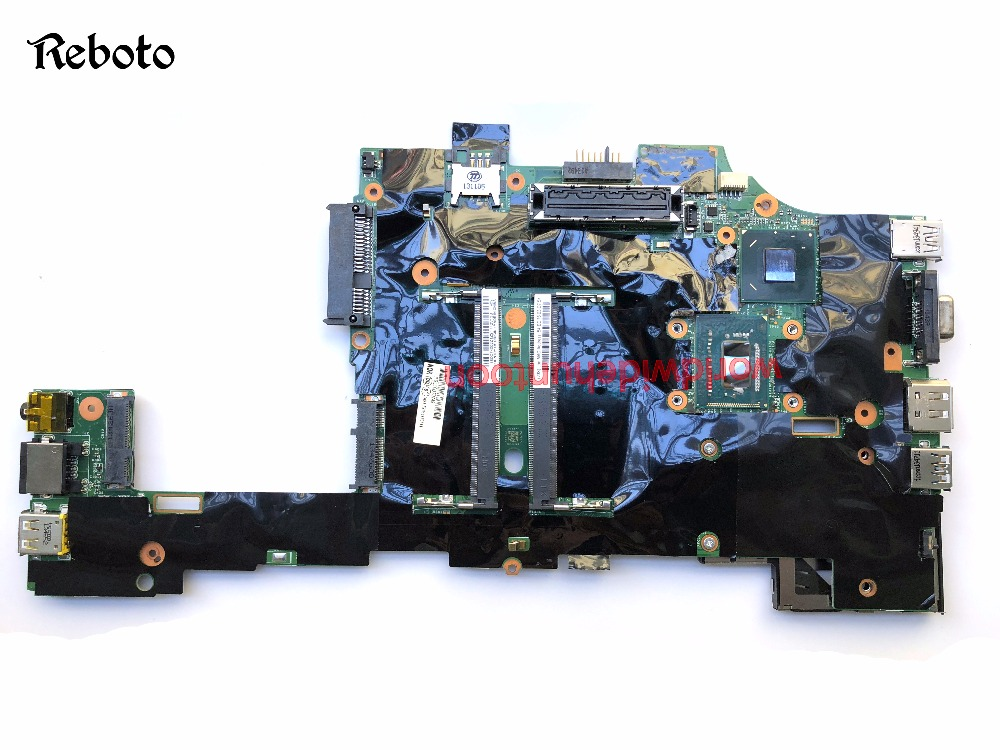 Laptop Motherboard For Lenovo ThinkPad X230T PC FRU 04X3744 CPU SR0MU i7-3520M Integrated GPU  DDR3 100% Fully Tested