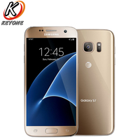 Оригинал AT & T версия Samsung Galaxy S7 g930a 4G LTE мобильный телефон 5,1 дюймов 4G B оперативная память 32 ГБ Гб встроенная 4 ядра NFC 12MP камера сотовом телефон