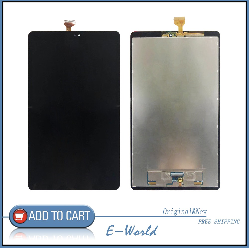 For Samsung Galaxy Tab A2 SM T590 SM T595 T595 T590 LCD Display with Touch Screen Panel Digitizer Assembly Free Shipping