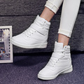 Fashion Platform Women Casual Shoes Ladies Summer Flats High Top Height Increased Boots Shoes For Women