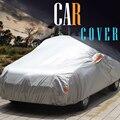 13 Tamaño Cubierta Del Coche SUV Auto Sedán Hatchback MPV Sol Hielo y Nieve lluvia Protección A Prueba de Polvo Anti UV Cubierta Del Coche accesorios