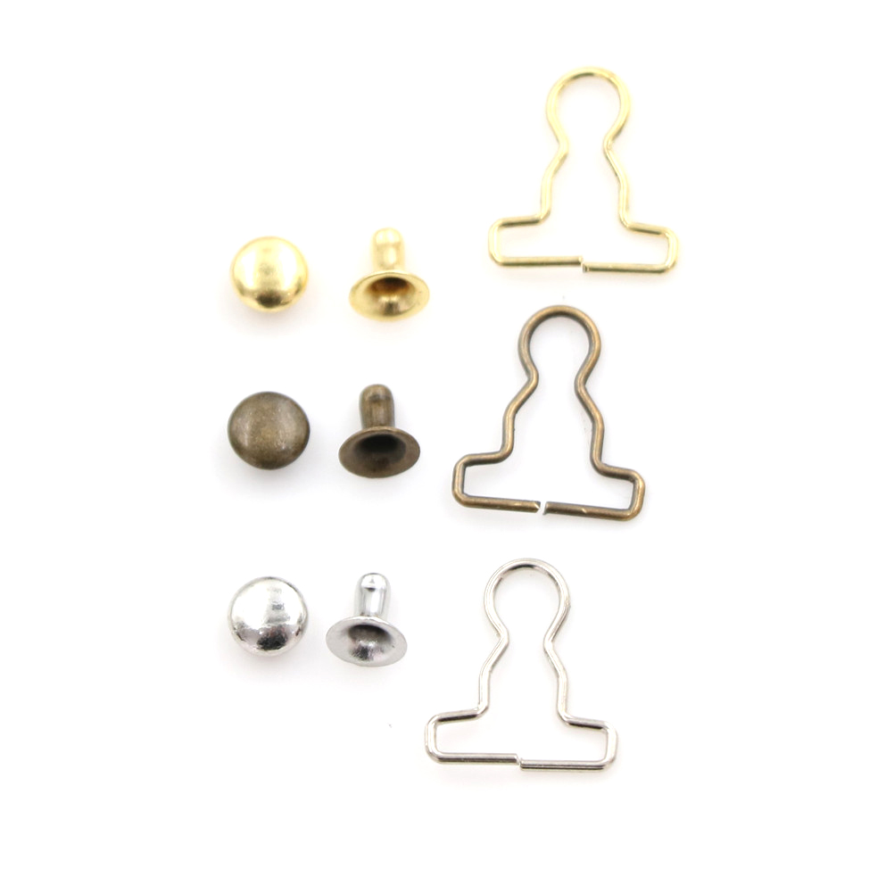 20pcs lot Mini 9mm Doll Clothes DIY Metal Buckle Fit For 1 6 BJD Blyth Pullip Blyth Girls Azone Doll Accessories in Dolls Accessories from Toys Hobbies