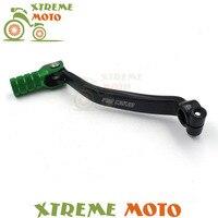Green CNC Aluminum Gear Shift Shifter Lever For Kawasaki KXF 250 09 10 11 12 13