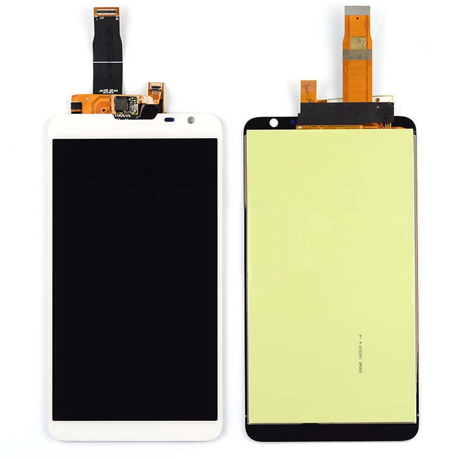 white LCD Display + Touch Screen Digitizer Assembly Replacements For Huawei Ascend Mate 2 Free Shipping replacement original touch screen lcd display assembly framefor huawei ascend p7 freeshipping