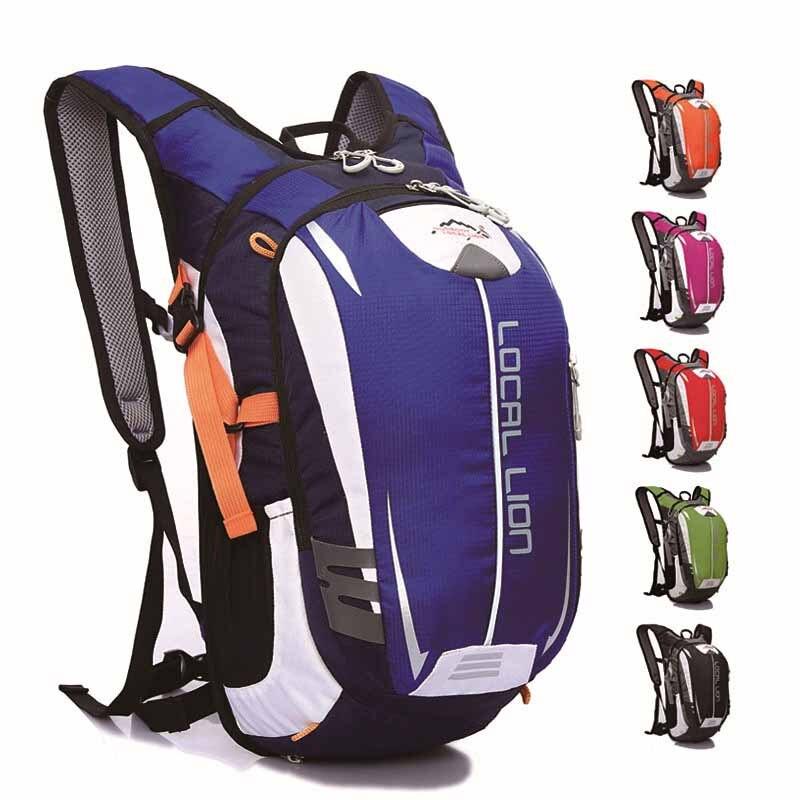 18L Ourdoor Bicycle Backpack Waterproof Sport Bag Cycling Bike Rucksacks Riding Packsack Running Backpack Ride pack LOCAL LION