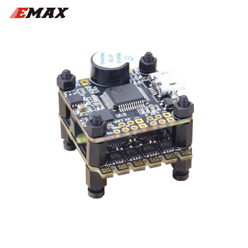 New Arrival Emax F3 Magnum Mini Tower System 20x20mm 3-4S BLheli_S 12A 4 In 1 ESC + F3 Flight Controller OSD mini f3 osd omnibus flight control tower