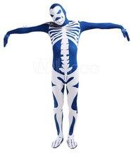Unisex Skelet Halloween Suits