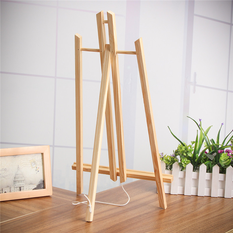 40cm/50cm A4/A3 Size Table Top Display Beech Wood Artist Art Easel Craft Wooden For Party Decoration40cm/50cm A4/A3 Size Table Top Display Beech Wood Artist Art Easel Craft Wooden For Party Decoration