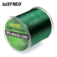 Wifreo 8 Strands 500m 547yd Super PE Braided Multifilament Fishing Line Braided Line Carp Fishing 8LB