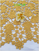 New Arrival High Quality African Lace Fabrics African Mesh Cord Lace Guipure Lace Fabrics For Wedding