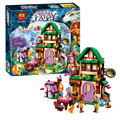 348pcs Bela 10502 Diy Elves The Starlight Inn Kits minis Compatible With Legoingly 41174 Building Blocks Brick Toys For Children