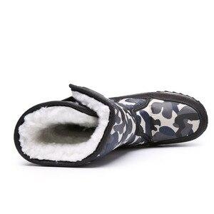 Image 5 - Kinderen Laarzen Jongens Snowboots Meisjes Sport Kinderen Schoenen Voor Jongens Sneakers Mode Lederen Kind Schoenen Kinderen Laarzen 2019 Winter