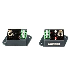 Image 2 - 2 stks (1 paar) lange afstand 1 channel Actieve Video Balun Video Transceiver voor CCTV AHD CVI TVI CVBS Single Channel Zender