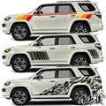 Para Toyota 4 Runner pegatinas de coche pull flower color pegatinas decoración del cuerpo pegatinas de coche modificadas